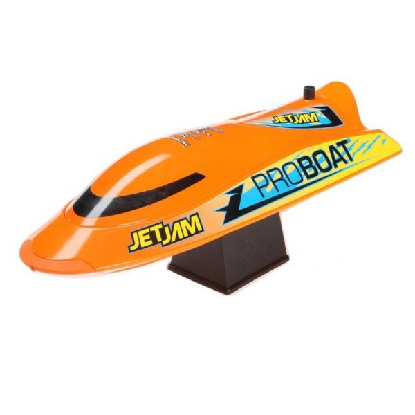 Jet Jam 12-inch RTR Pool Racer Jet Pump Boat, Orange