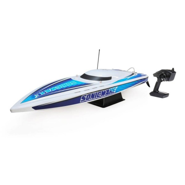 "Pro Boat 36"" Sonicwake BL RTR Self-Righting Deep-V (blue)"