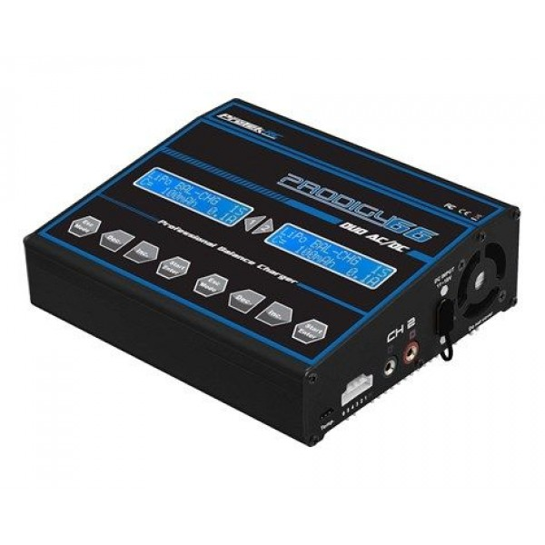 Protek R/C Prodigy 66 Duo AC/DC LiHV/LiPo/LiFe/NiMH Battery Charger (6S/6A/50W)