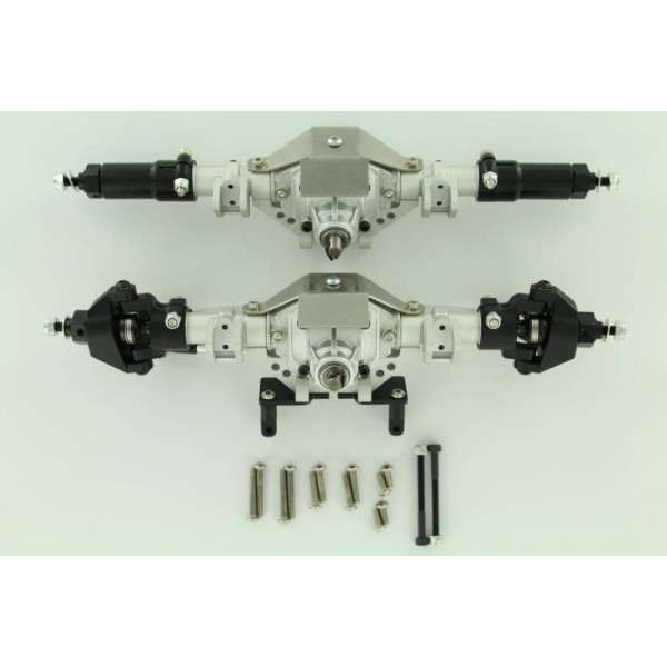 Rock Lizard Designs Billet Front and Rear Axle Set (Complete)