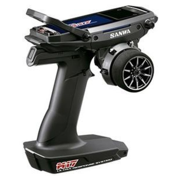 Sanwa M17 FH5 4-Channel 2.4GHz Radio and RX-493 Receiver