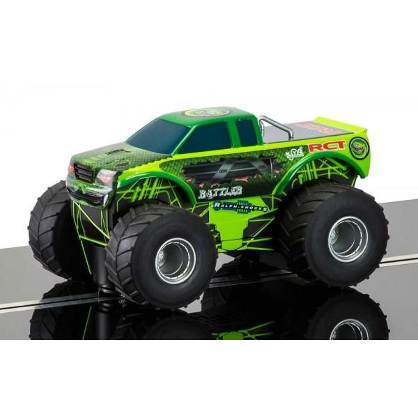 "Scalextric Monster Truck ""Rattler"" 1/32 Slot Car"