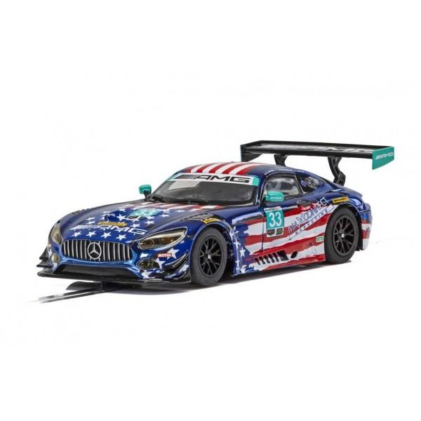Scalextric Mercedes AMG GT3 No.33 Riley Motorsports Team, Watkins Glen 2018 IMSA