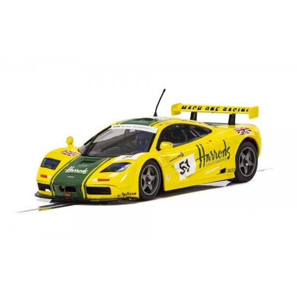Scalextric 1/32 McLaren F1 GTR, Harrods, DPR/Lights