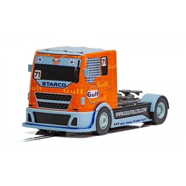 Scalextric 1/32 Gulf Racing Truck, Digital Plug Ready