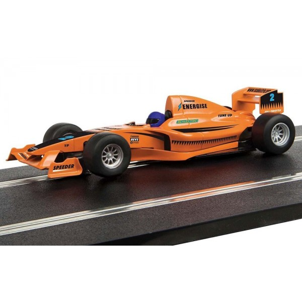 Scalextric 1/32 Start F1 Racing Car 'Team Full Throttle' with decals
