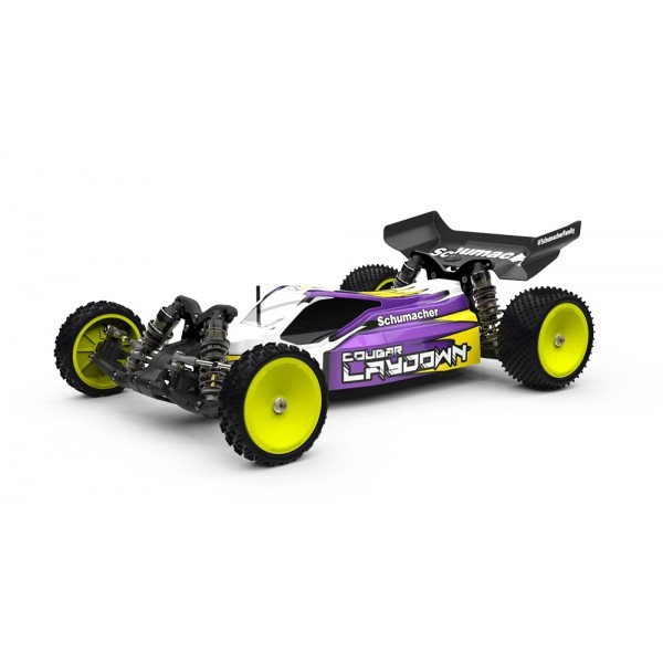 Schumacher Racing Cougar Laydown 2WD 1/10 Off-Road Buggy Kit