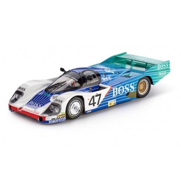Slot It Porsche 956 LH, No.47, Boss Le Mans 1984