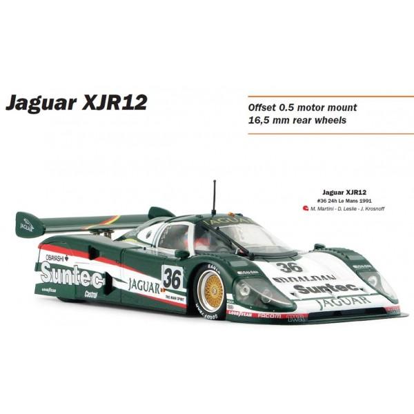 Slot.it 1/32 Jaguar XJR12 No.36 Le Mans 1991 Suntec