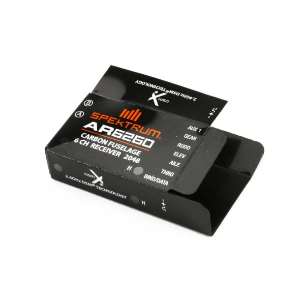 Spektrum AR6260 DSMX 6-Channel Carbon Fuselage Receiver