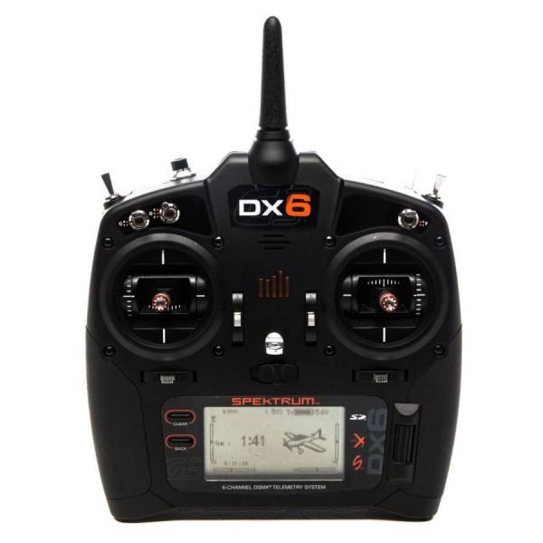 Spektrum RC DX6 G3 2.4GHz DSMX 6-Channel Radio System (Transmitter Only)