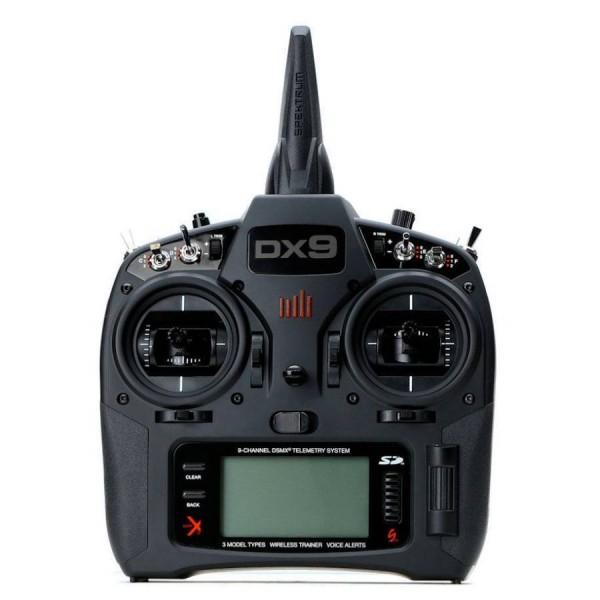 Spektrum RC DX9 Black 9-Channel Full Range DSMX Mode 2 TX