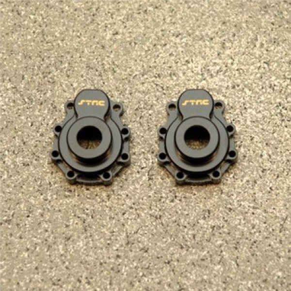 ST Racing Concepts HQ Brass Outer Portal Drive House, Black (2)