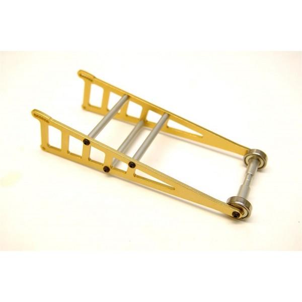 STRC Aluminum Adjustable Gold Wheelie Bar Kit