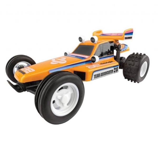 Team Associated 1/28 Scale RC28 Brushed Buggy 2WD RC10 Replica RTR ASC20152