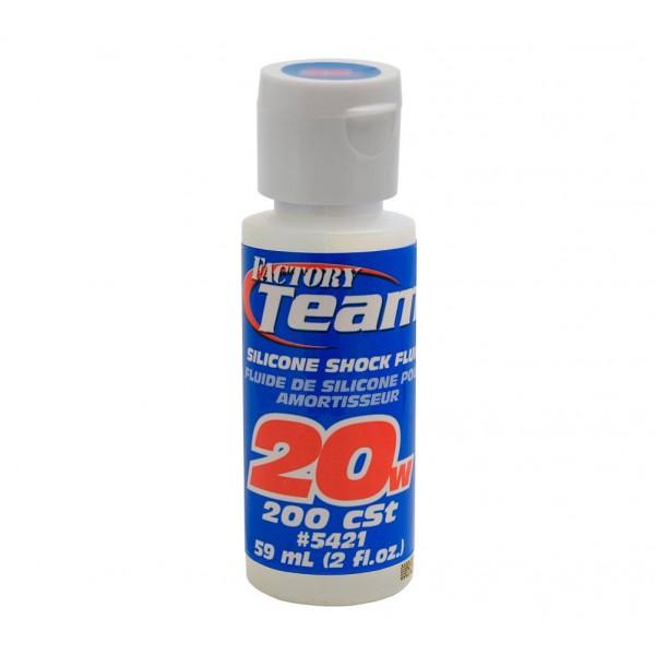 Factory Team Silicone Shock Fluid, 20wt (200 cSt), oz