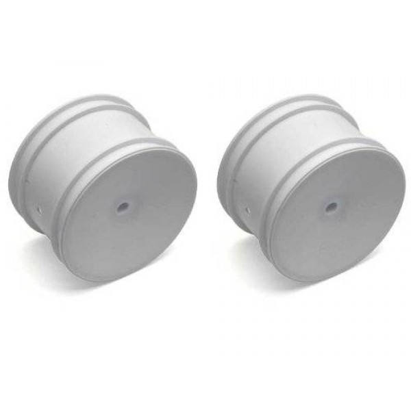 """Team Associated Buggy Rear Hex Wheels, 2.2"""" 12mm, white (2)"""