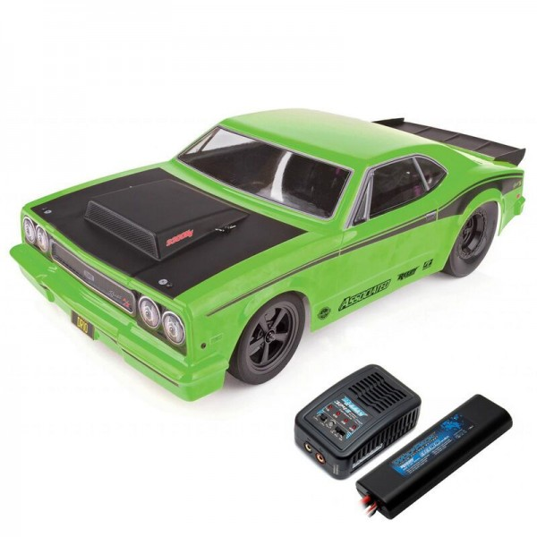 Team Associated DR10 1/10 2WD RTR Drag Race Car with LiPo: Green