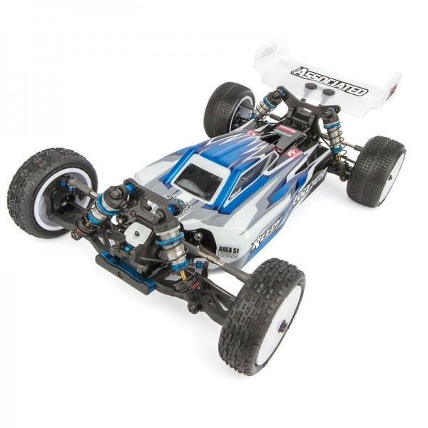 Team Associated RC10B74.1 1/10 4wd Electric Buggy Team Kit, Carpet