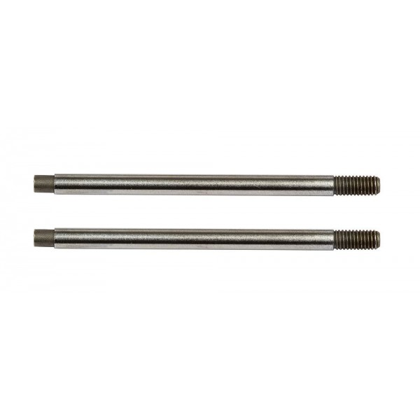 Team Associated FT 3x29 mm Shock Shafts V2, chrome (2)