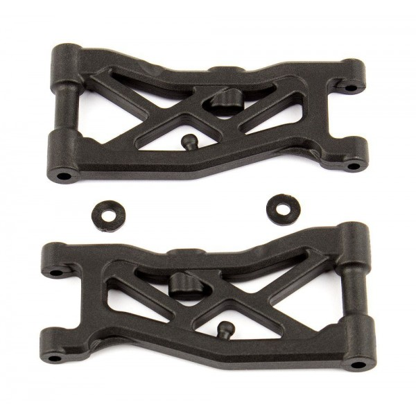 Team Associated Front Suspension Arms (RC10B74) (2)