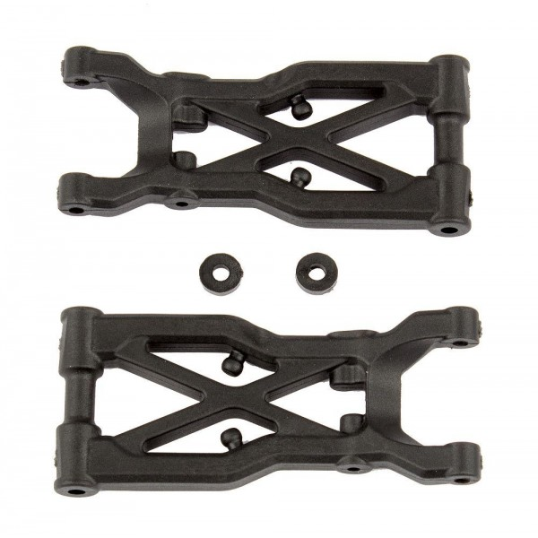 Team Associated Rear Suspension Arms (RC10B74) (2)