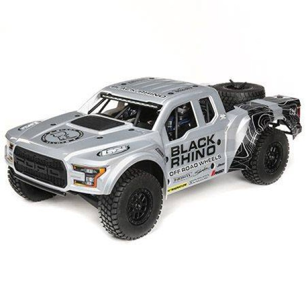 "Losi ""Black Rhino"" Ford Raptor Baja Rey RTR 1/10 4WD Desert Truck"