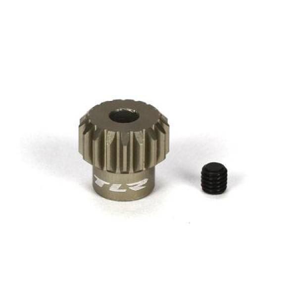 TLR Aluminum Pinion Gear 17T, 48P