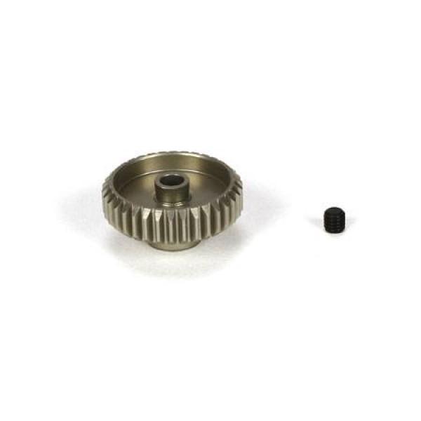 TLR Aluminum Pinion Gear 34T, 48P