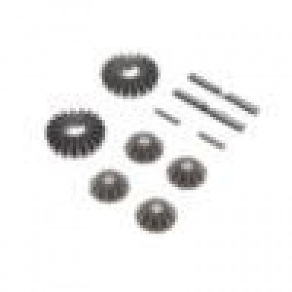 Team Losi Racing Metal Gear Set, G2 Gear Differential (For 22)
