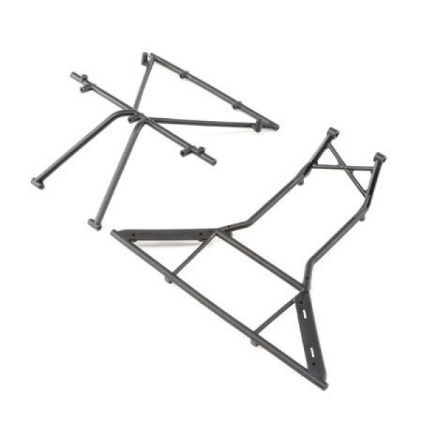 Team Losi Roll Cage, Roof, Front:for Rock Rey