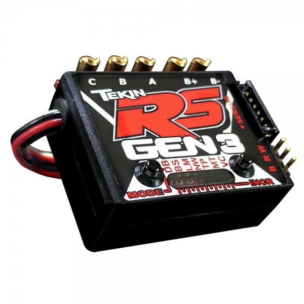 Tekin RS Gen3 Brushless Sensored/Sensorless D2 ESC, 8.5T Limit