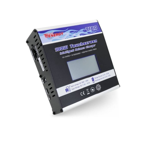 T180 Tenergy 100W Touchscreen Intelligent Balance Charger