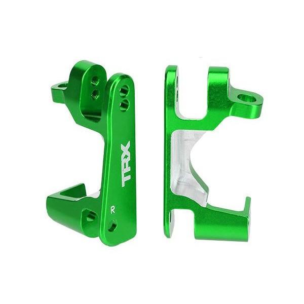 Traxxas Green Aluminum Caster Blocks 4x4