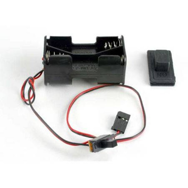 Traxxas Battery Holder/ Switch/ Cover Villain