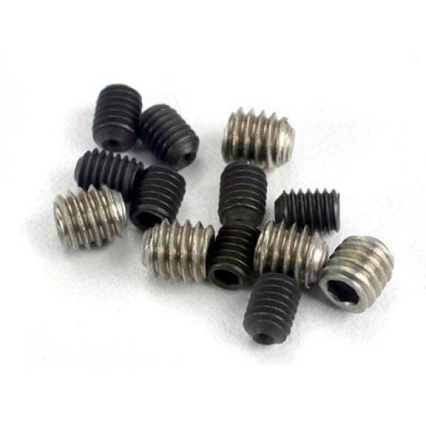 Traxxas Set Screw 3x4mm (8) 4x4mm (4)