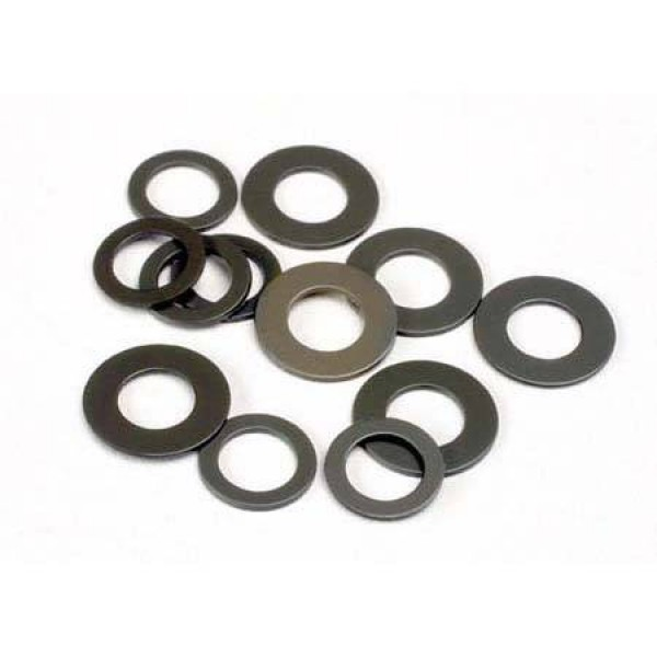 Traxxas Fiber Washers Large & Small Bullet (6)