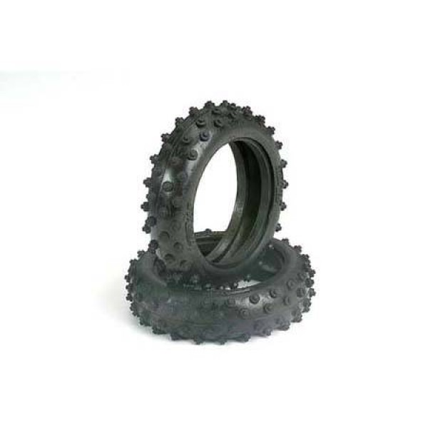 """Traxxas Front Buggy Tires Spiked 2.1"""" Standard Front 1/10 (2)"""