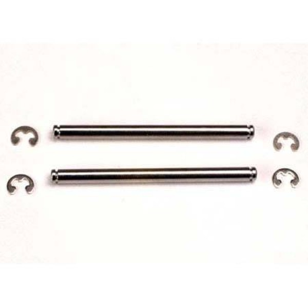 Traxxas Chrome Suspension Pin with Clip 44mm (2)