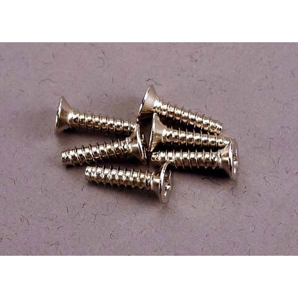 Traxxas Screws 3x12mm Countersunk Self-Tapping (6)