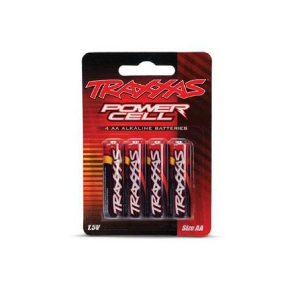 Traxxas Battery Power Cell AA Alkaline (4)
