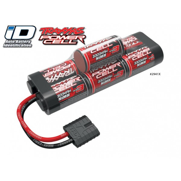Traxxas NiMH Hump Battery 3300mAh 8.4V (7S) with Traxxas Connector