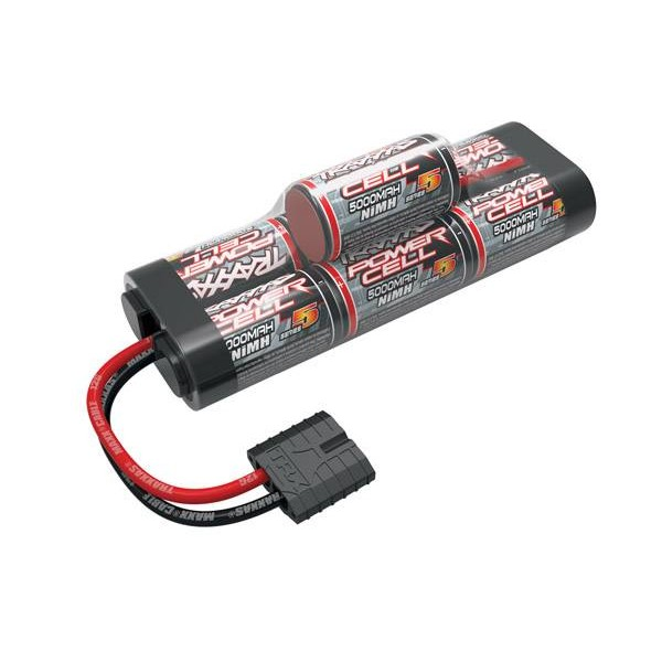 Traxxas NiMH Pack Battery 5000mAh 8.4V (7S) with Traxxas Connector