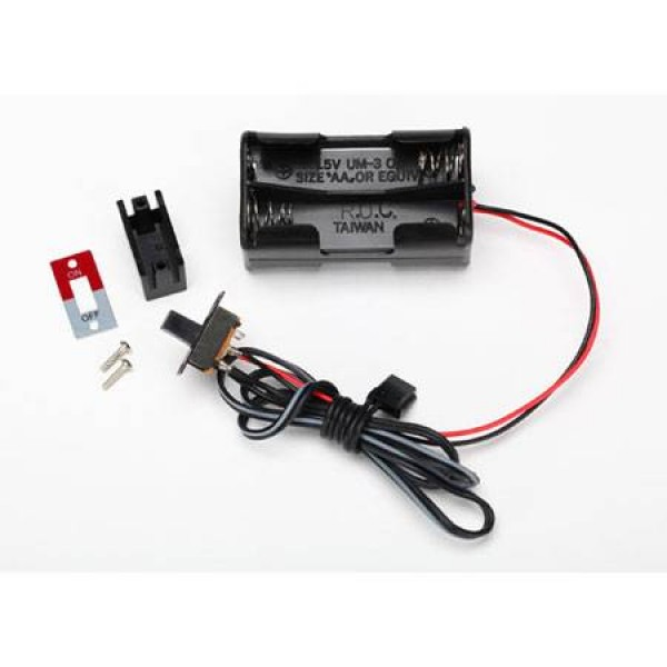 Traxxas Battery Holder 4-Cell On/Off Switch
