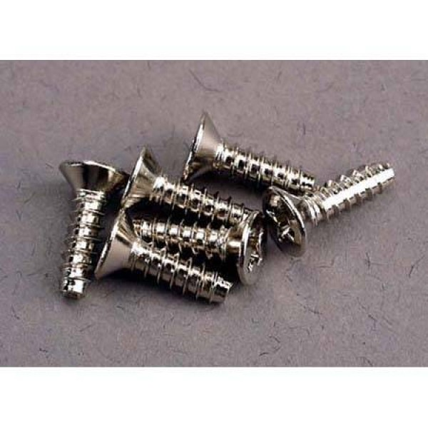 Traxxas Nitro Hawk Countersunk Screws 3x10mm (6)