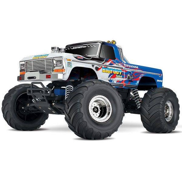 Traxxas Classic Bigfoot #1 RTR 1/10 2WD Monster Truck, Flame