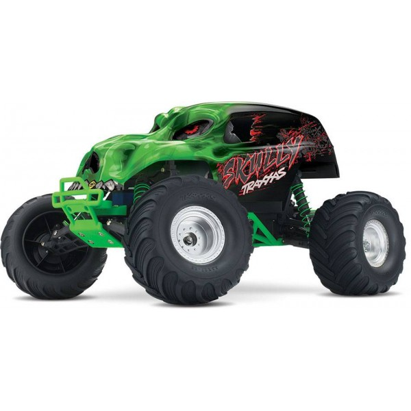 Traxxas Skully 1/10 Scale Monster Truck with TQ 2.4GHz radio system