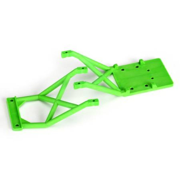 Traxxas Skid Plates Front / Rear Green