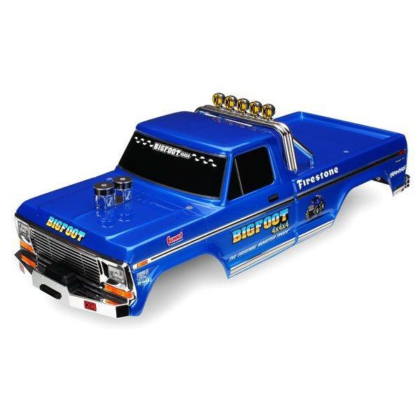 Traxxas Bigfoot® No. 1 Body Officially Licensed replica (painted, decals applied)