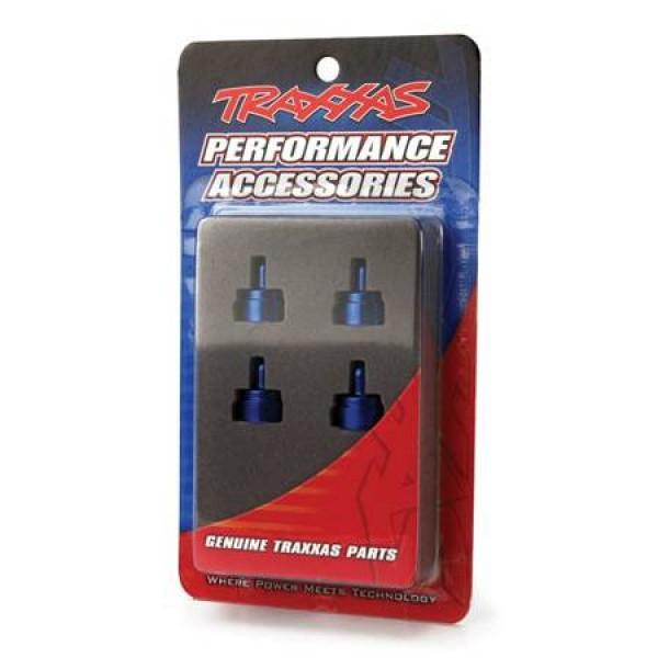 Traxxas Shock Caps Aluminum Blue Anodized (4)